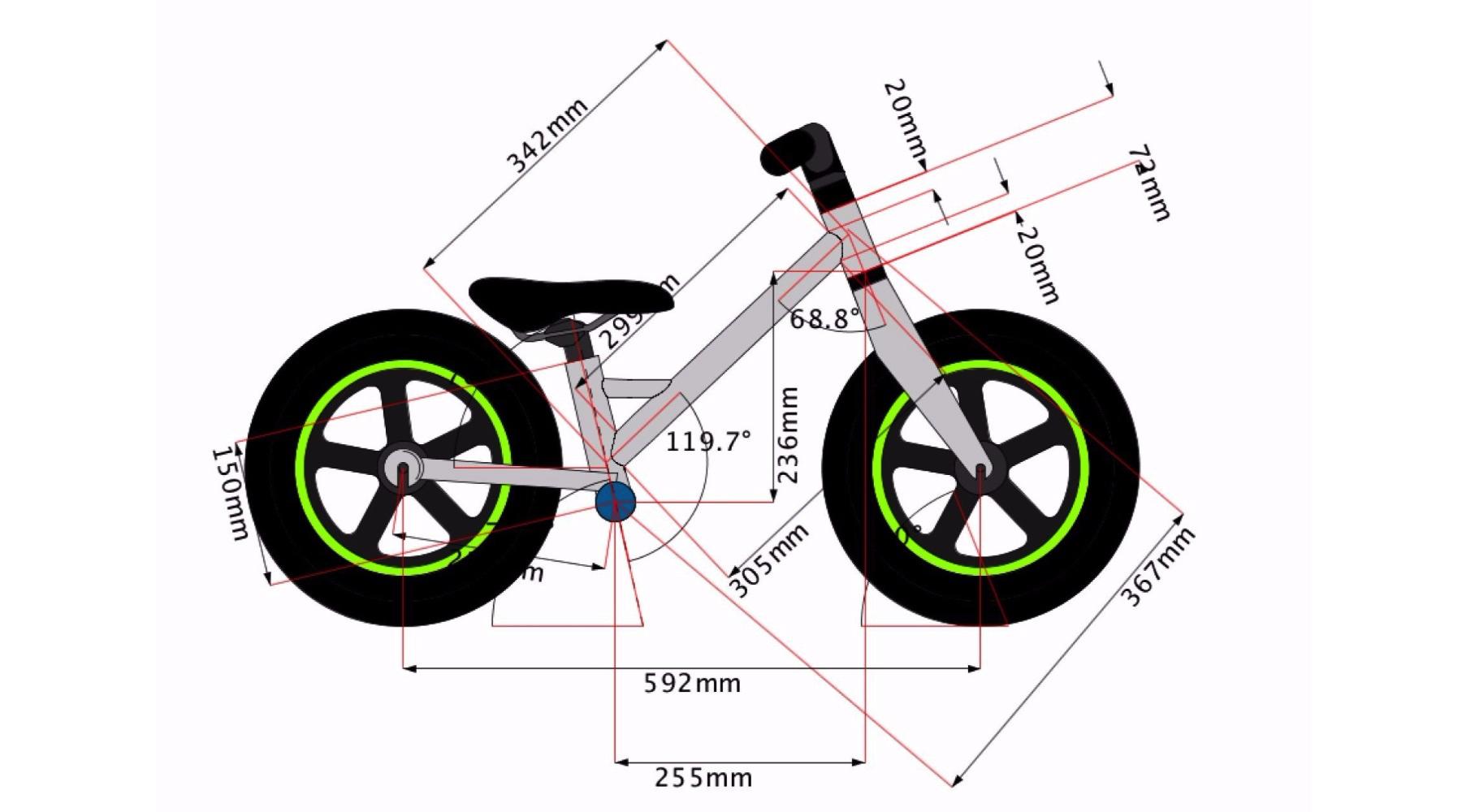 Titanium Balance Bike