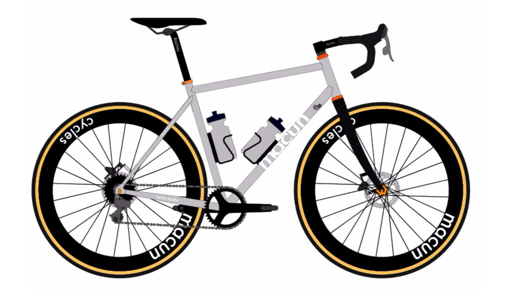 Custom Titanium Cyclo Cross Bicycle